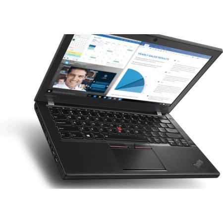 "Lenovo ThinkPad X260 20F60073RT 12.5"", Intel Core i7, 2500МГц, 8Гб RAM, DVD нет, 512Гб, Windows 10, Windows 7, Черный, Wi-Fi, Bluetooth"