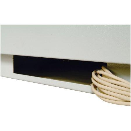 ЦМО Шкаф телекоммуникационный напольный 22U (600x1000) дверь перфорированная (3 места), [ ШТК-М 22.6.10-4ААА ]