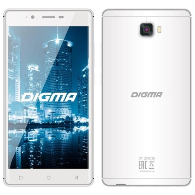 Digma CITI Z530 3G Белый