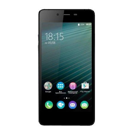 BQ 4800 Blade Черный, 16Гб, 1 SIM, 4G (LTE), 3G
