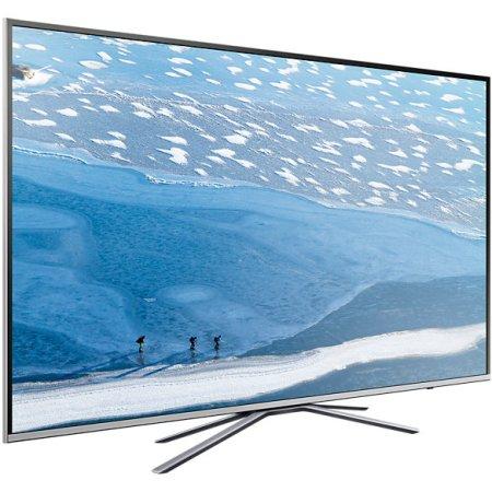 "Samsung UE43KU6400U 43"", Серебристый, 3840x2160, Wi-Fi, Вход HDMI"