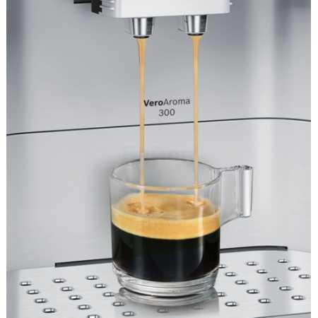 Bosch TES60321RW Черный, зерновой, молотый, 1.7л, 1500Вт