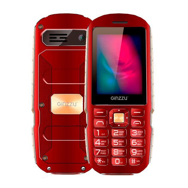 Ginzzu R1D Красный, 0.016Гб