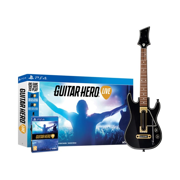 Guitar Hero Live Bundle Черный