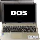 """15.6"""", Intel Core i3, 2000МГц, 4Гб RAM, 500Гб, Черный, DOS"""