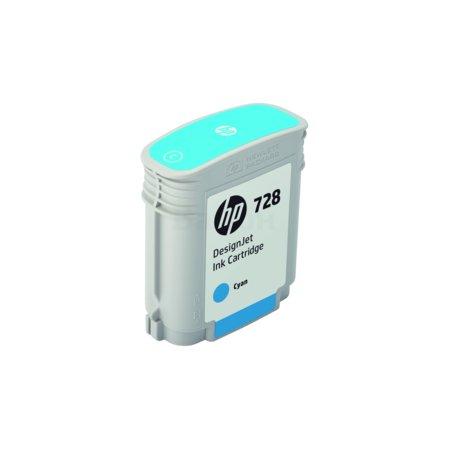 HP 728 Голубой, Картридж струйный, Стандартная, нет