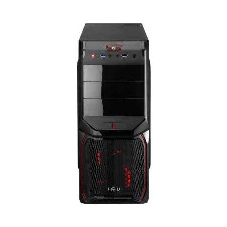 IRU Home 311 MT Intel Pentium, 3100МГц, 4Гб, 500Гб, Win 10, Черный