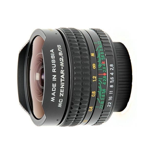 Зенит Зенитар М 16mm f/2.8 «Рыбий глаз», T-mount, Совместимость с полнокадровыми фотоаппаратами