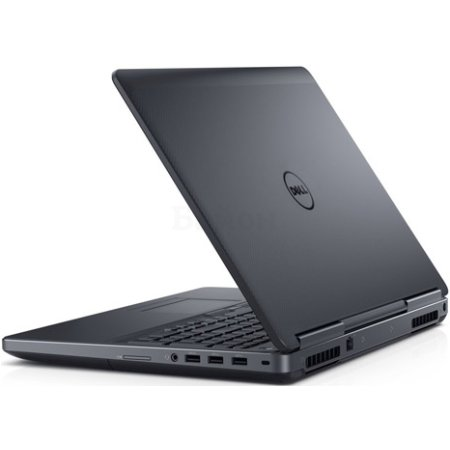 "Dell Precision 7510 15.6"", Intel Core i7, 2700МГц, 16Гб RAM, DVD нет, 1.5Тб, Черный, Wi-Fi, Windows 10 Pro, Windows 7, Bluetooth"