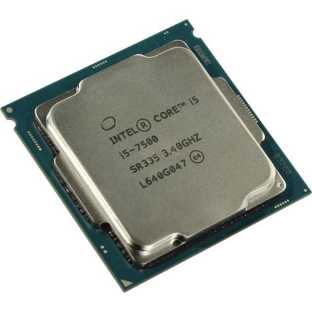 Intel Core i5 7500 OEM 4 ядра, 3400МГц, OEM