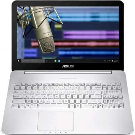 "Asus N752VX-GC276T 17.3"", Intel Core i5, 2300МГц, 8Гб RAM, DVD-RW, 1Тб, Серебристый, Wi-Fi, Windows 10"