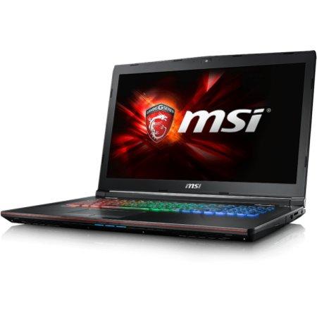 "MSI GE72 Apache 17.3"", Intel Core i7, 2600МГц, 8Гб RAM, DVD-RW, 1Тб, Черный, Wi-Fi, Windows 10, Bluetooth"