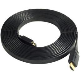 Кабель HDMI Ningbo 19M/19M 10m ver1.4 плоский позолоченные контакты Blister box