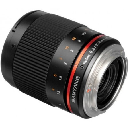 Samyang MF 300mm f/6.3 Mirror Micro 4/3, 300мм