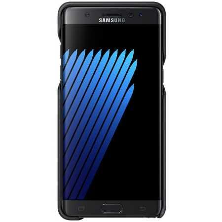 Samsung Leather Cover для Samsung Galaxy Note 7 EF-VN930LBEGRU Черный