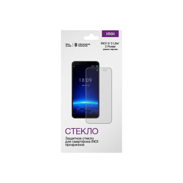 Универсальное защитное стекло 2.5D для INOI 3/ 3Lite/ 3Power