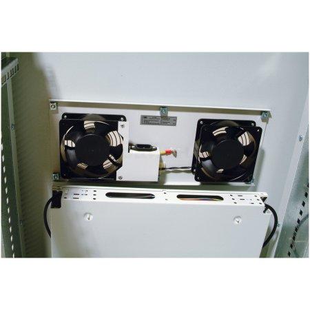 ЦМО Шкаф телекоммуникационный напольный 18U (600x800) дверь перфорированная (2 места), [ ШТК-М-18.6.8-4ААА ]
