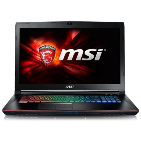 "MSI GE72 Apache 17.3"", Intel Core i7, 2600МГц, 8Гб RAM, DVD-RW, 1Тб, Черный, Wi-Fi, Windows 10, Bluetooth"