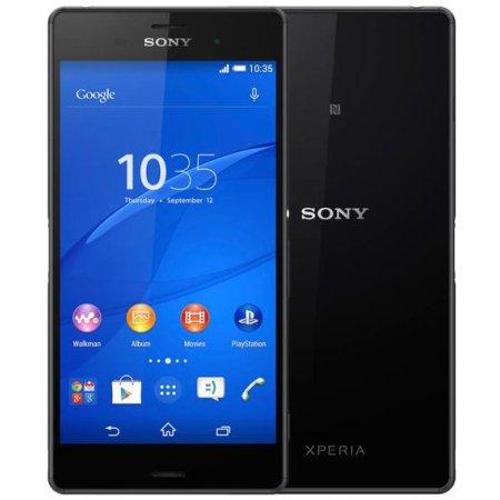 Sony Xperia Z3 D6603 Черный, 16Гб, 1 SIM, 4G LTE, 3G Black + оригинальный чехол SCR24 + DK31 док.станция 16Гб, Черный, 1 SIM, 4G (LTE), 3G