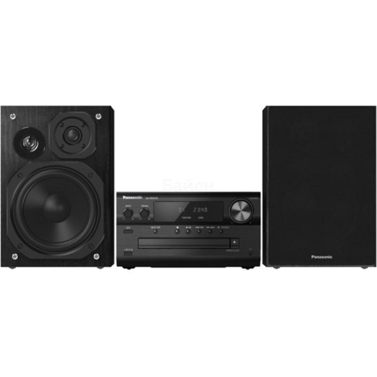 Panasonic SC-PMX70EE-K микросистема, 2.0, FM