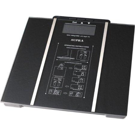 Supra BSS-6500 Черный, 150кг, Стекло \ металл