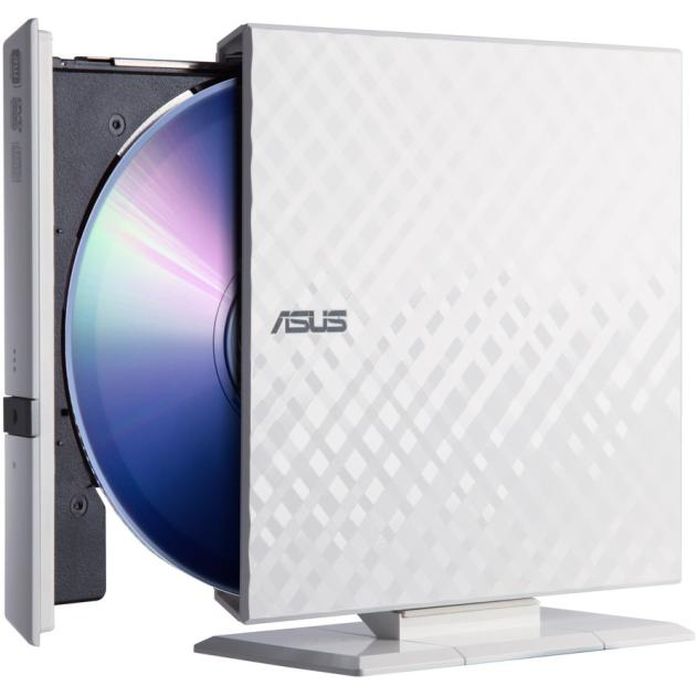 Asus SDRW-08D2S-U Lite Белый, DVD RW DL SDRW-08D2S-ULITE/WHT/G/A
