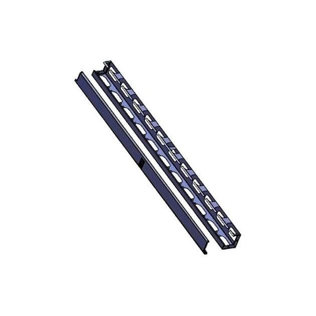 42U Вертикальный передний кабельный органайзер для ServerMAX (левая и правая панели в комплекте), 1 комплект, черный