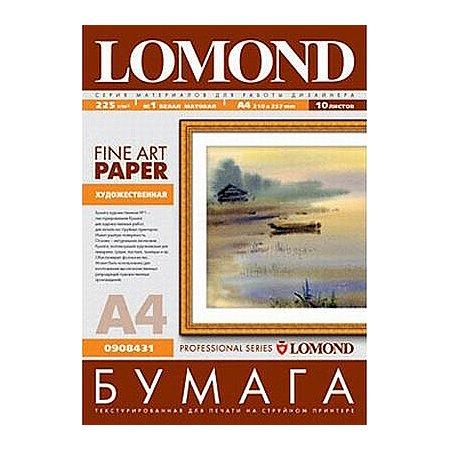 Lomond 908431 Холст, A4, 10, матовая, холст