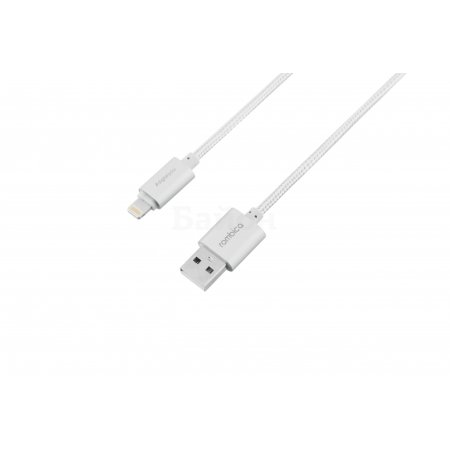 Rombica Digital Silver USB-Apple Lightning 1м, Lightning, USB, Серебристый