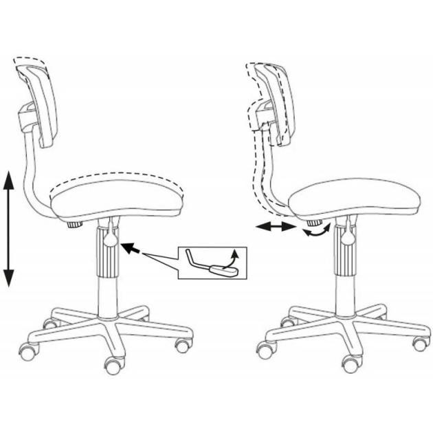 Кресло Бюрократ CH-299/CH/15-11 спинка сетка бордовый сиденье бордовый 15-11 от Байон
