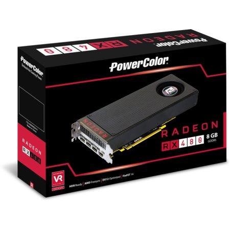 PowerColor 8GBD5-M3DH Radeon RX 480 GDDR5