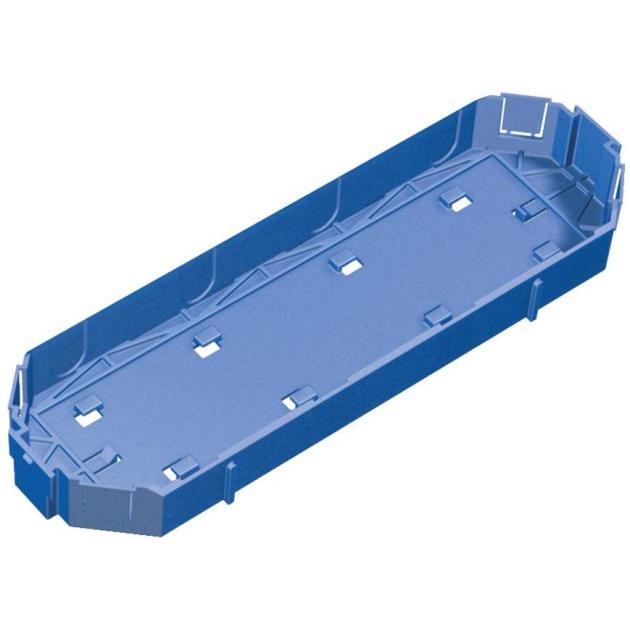 Schneider Electric OptiLine 45 Крышка для суппорта ISM50810 (4х45)