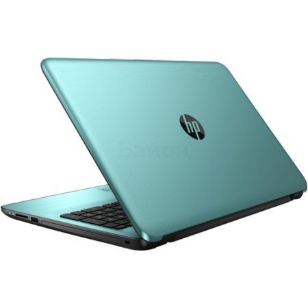 "HP15-ba041ur 15.6"", AMD A6, 2000МГц, 8Гб RAM, DVD-RW, 1Тб, Бирюзовый, Wi-Fi, Windows 10, Bluetooth, WiMAX"