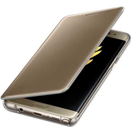 Samsung Clear View Cover для Samsung Galaxy Note 7 EF-ZN930CFEGRU Золотой