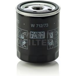 Фильтр автомобильный масляный MANN-FILTER W 712/73