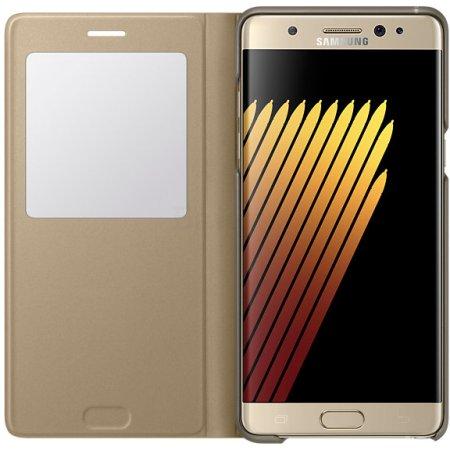 Samsung View Standing Cover для Samsung Galaxy Note 7 S EF-CN930PFEGRU Золотой