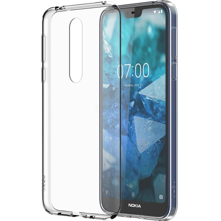 Чехол Nokia 7.1 Clear Case