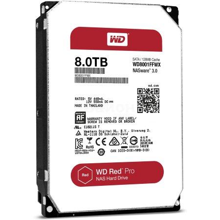 """Western Digital WD8001FFWX 8000Гб, 600, 3.5"""" HDD"""