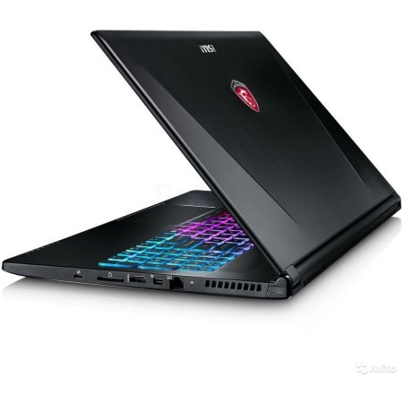 "MSI GE72 Apache Pro 6QE-400RU 17.3"", Intel Core i7, 2600МГц, 16Гб RAM, DVD-RW, 1Тб, Черный, Wi-Fi, Windows 10, Bluetooth, GTX 965M 2Gb"