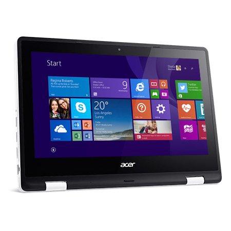 "Acer Aspire R3-131T-C3F6 11.6"", Intel Celeron, 1600МГц, 4Гб RAM, DVD нет, 500Гб, Белый, Wi-Fi, Windows 10 Домашняя, Bluetooth"