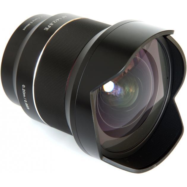 SAMYANG AF 14mm f/2.8 FE AS UMC Sony E Широкоугольный, Sony E, Совместимость с полнокадровыми фотоаппаратами SAMYANG AF14F2.8_SONE