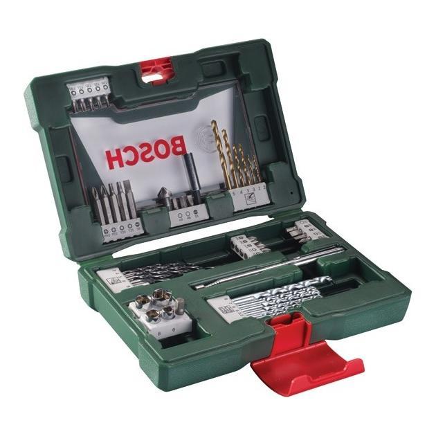 Набор принадлежностей Bosch V-line 48 предметов жесткий кейс от Байон