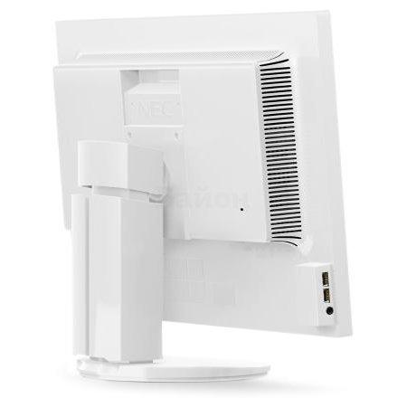 "NEC EA193Mi-BK 19"", , DVI, Full HD Белый"