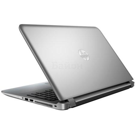 "HP Pavilion 15-ab000 15.6"", AMD A6, 1800МГц, 4Гб RAM, DVD-RW, 500Гб, Windows 10, Серебристый, Wi-Fi, Bluetooth"