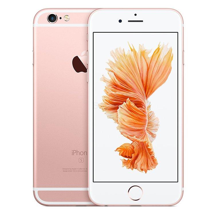 айфон 6s фото розовый