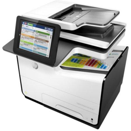 HP PageWide Enterprise 586dn Лазерный \ светодиодный, Белый, Цветная, А4