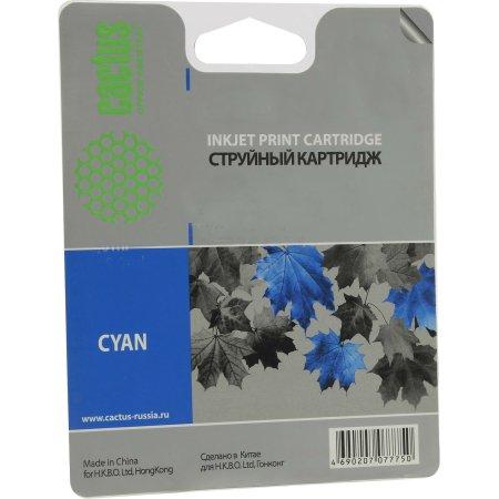Cactus CS-CLI471XLC Картридж струйный, Голубой, Стандартная, нет