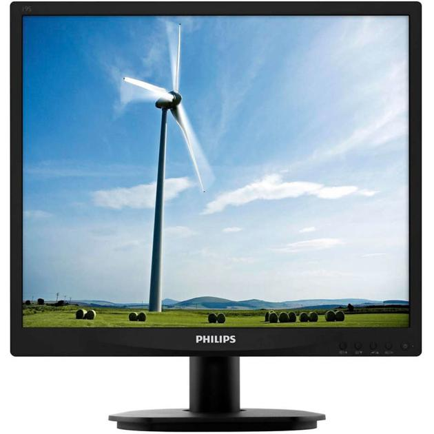 "Philips 19S4LSB5 19"", Черный, DVI, Full HD"