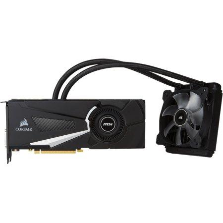 MSI NVIDIA GeForce GTX 1070 SEA HAWK EK X 8192Мб, GDDR5, 1607MHz, PCI-Ex16 3.0, 8pin x 1, 6pin x 1