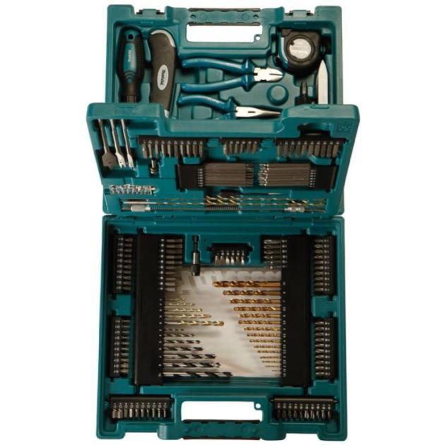 Набор принадлежностей Makita D-37194 200 предметов (жесткий кейс) от Байон